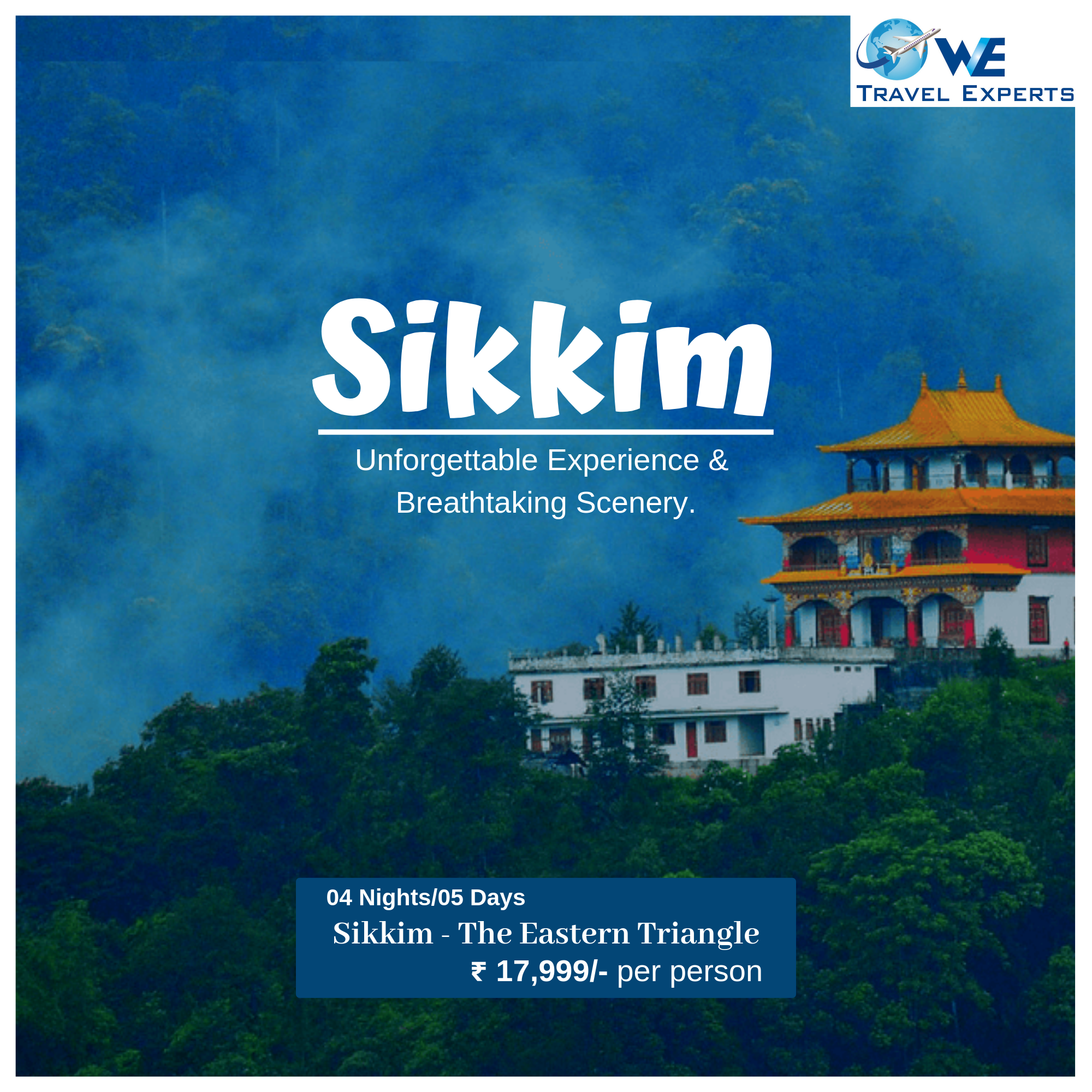 Get attractive offers on Sikkim travel packages at World