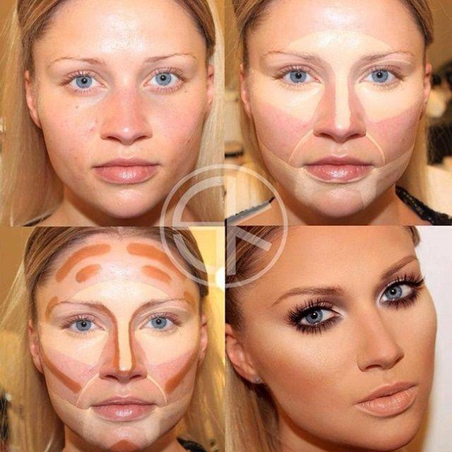 Best Makeup To Hide Tiredness Contour Makeup Makeup Tips