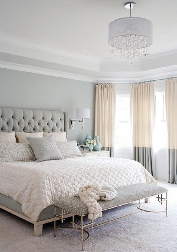Grey And Gold Bedroom Home Pinterest Bedroom Master