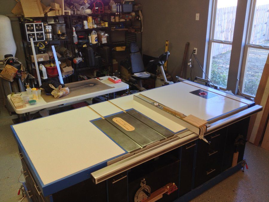 Bon The Ultimate Table Saw Cabinet   By Drew @ LumberJocks.com ~ Woodworking  Community
