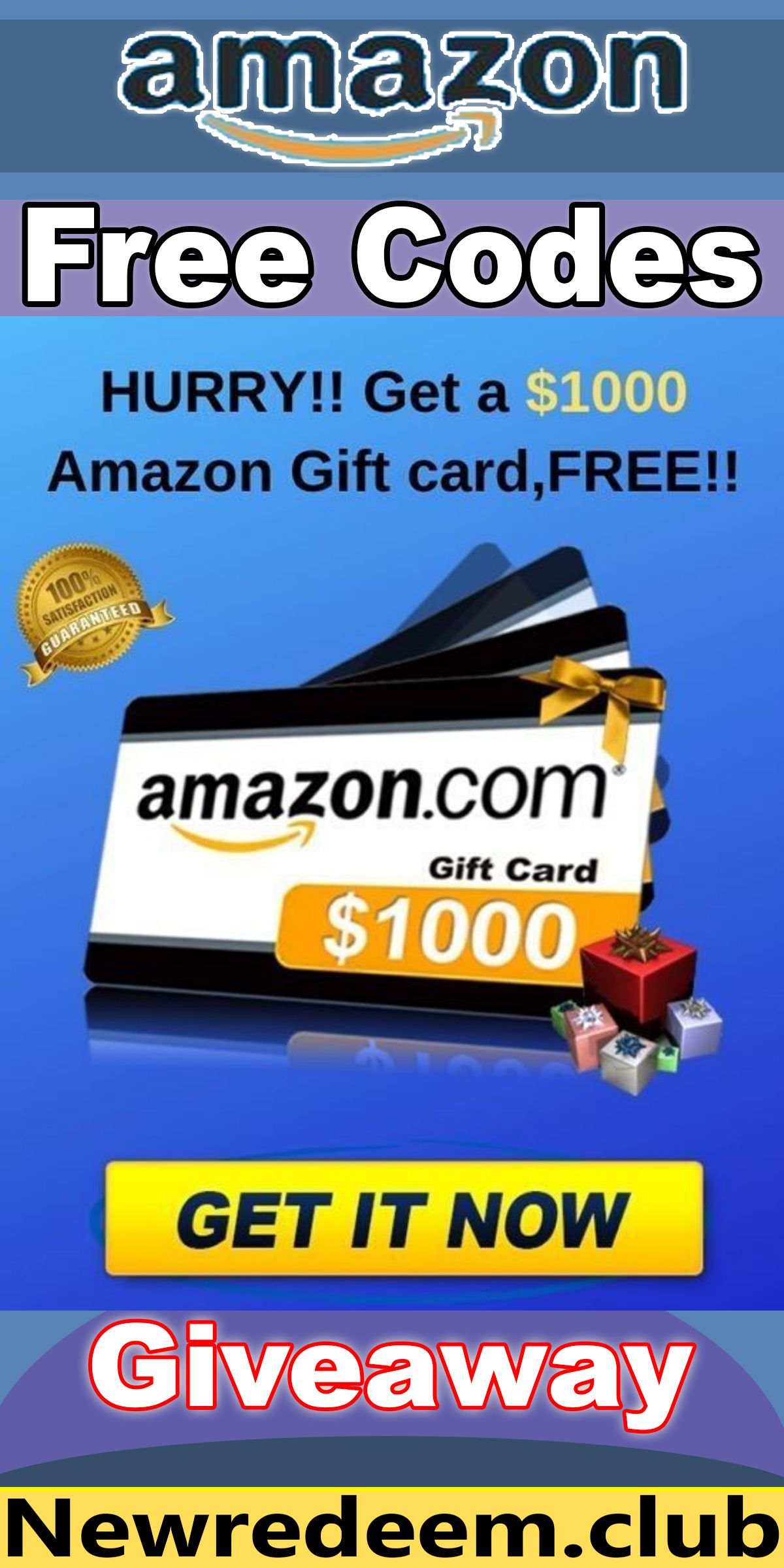 Photo of Free Amazon 1000$ gift card Completly Free !!