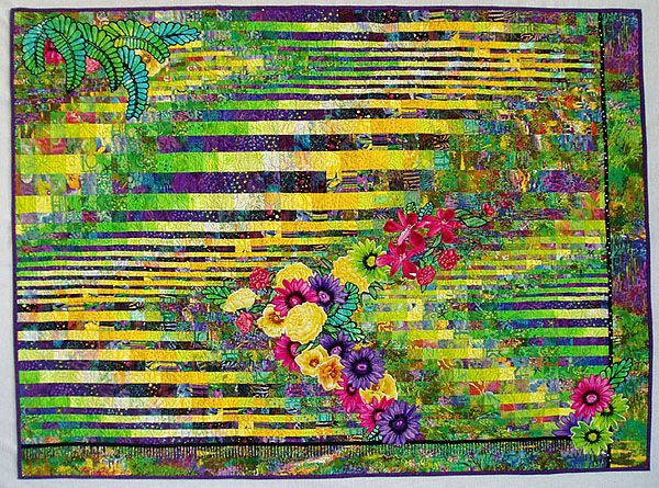 Tropic Of Capricorn Art Quilt By Louisa L Smith Quilt