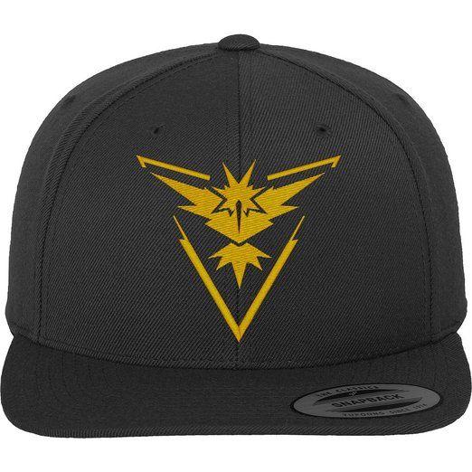 Go Team Gelb Cap - Cap, heather grey,