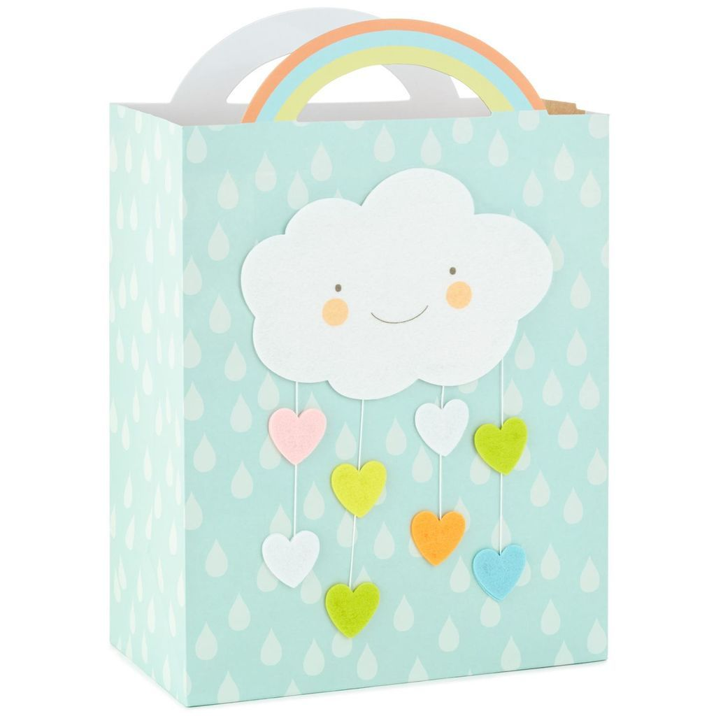 Cloud and raindrops large gift bag 13 large gift bags