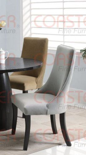 Curved Back Dining Room Chairs Glamorous Amazon Set Of 2 Parson Dining Chairs With Curved Back In Gray Review