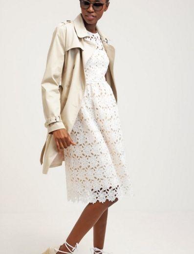 Little White Lies Sukienka Letnia Kwiaty Azurowe Biala White Fashyou Pl White Dress Summer Runway Outfits Dresses