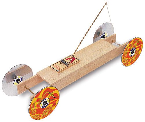 Self Propelled Mousetrap Car
