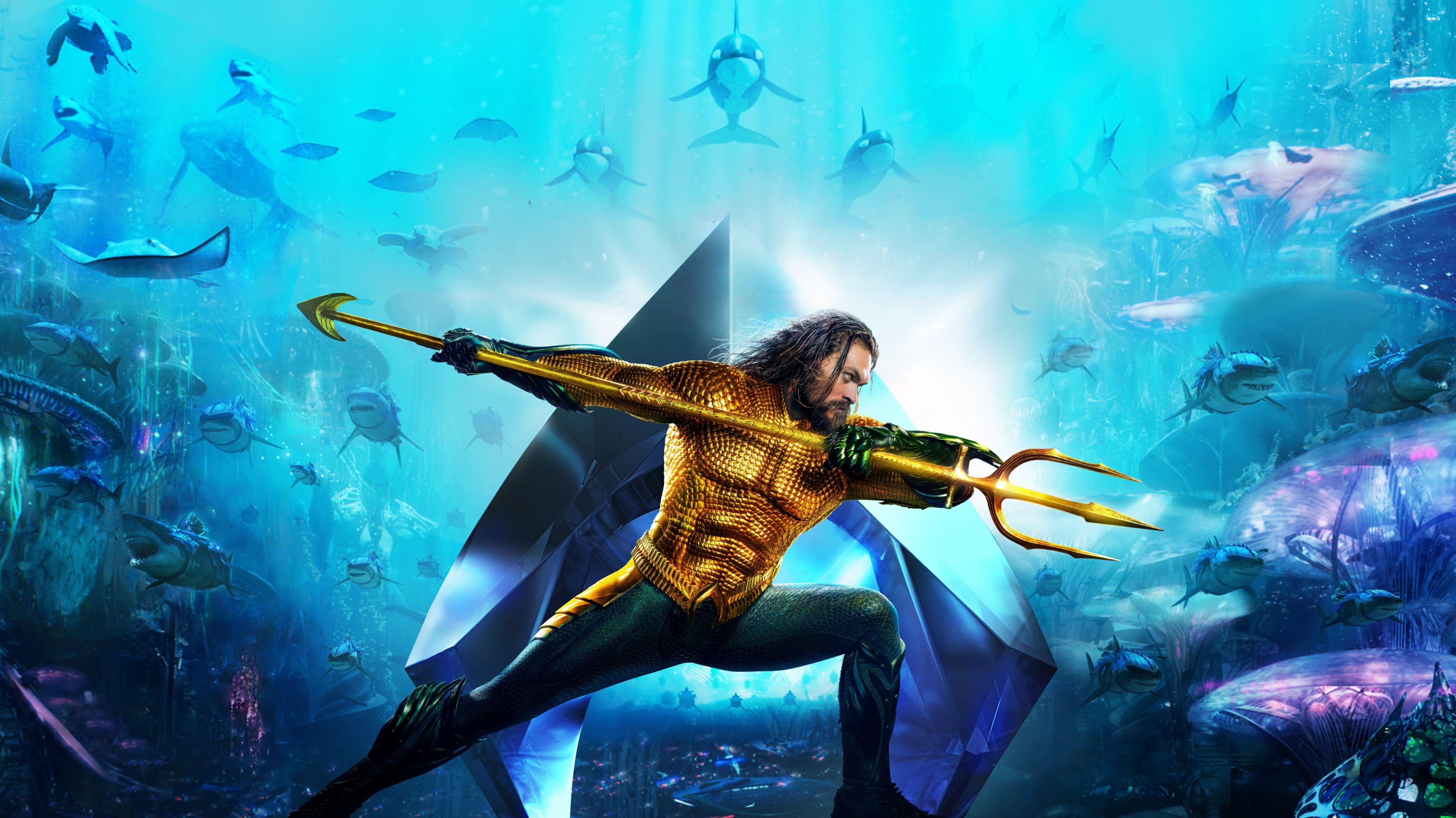 Aquaman Poster 2018 4k New Aquaman Wallpapers Hd 4k Download Aquaman New Poster 4k Aquaman Movie Wallpapers Hd 4k Aquaman 1 Aquaman Aquaman 2018 Jason Momoa