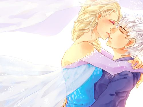 Elsa and jack frost kissing disney style pinterest jack frost elsa and jack frost kissing thecheapjerseys Choice Image