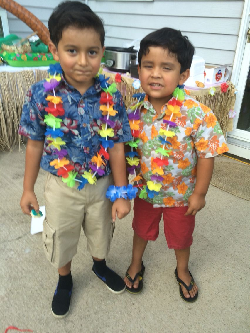 Hawaiian outfits for boys in 2019