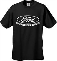 "Click Image Above To Buy: Official Ford ""an American Classic"" Men's T-shirt"
