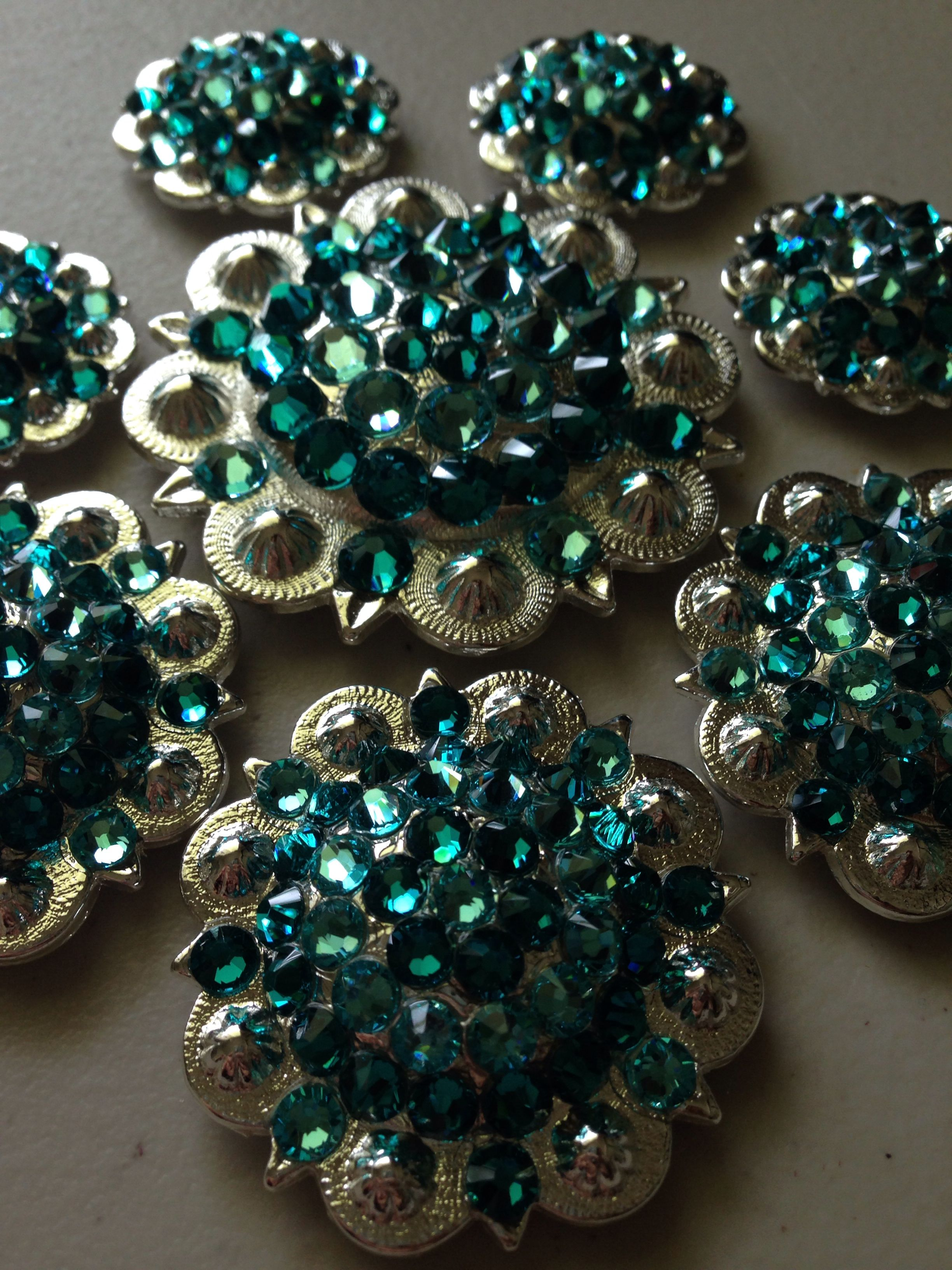 Jens Custom Bling Horse Tack Conchos. Follow