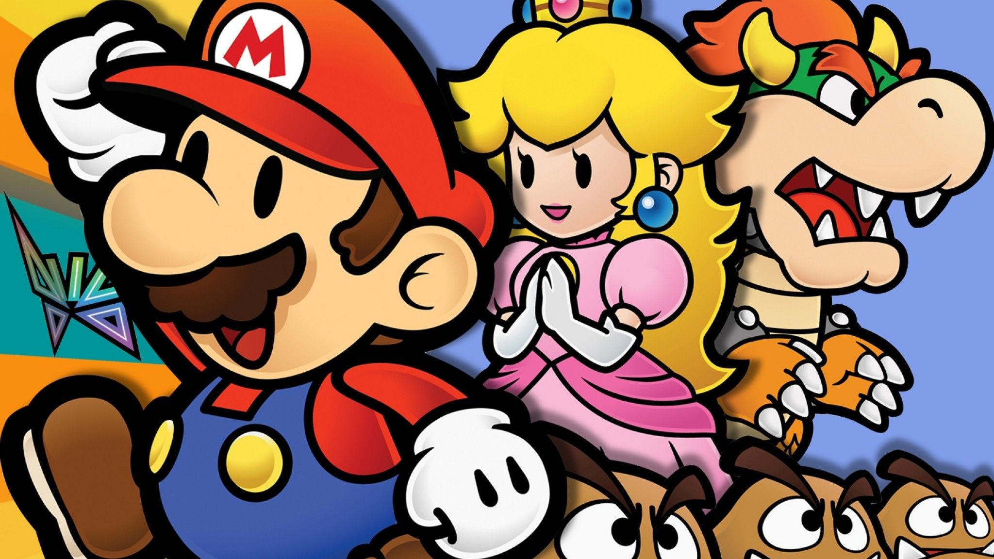 Mario Paper Jeux Mario Jeux Video