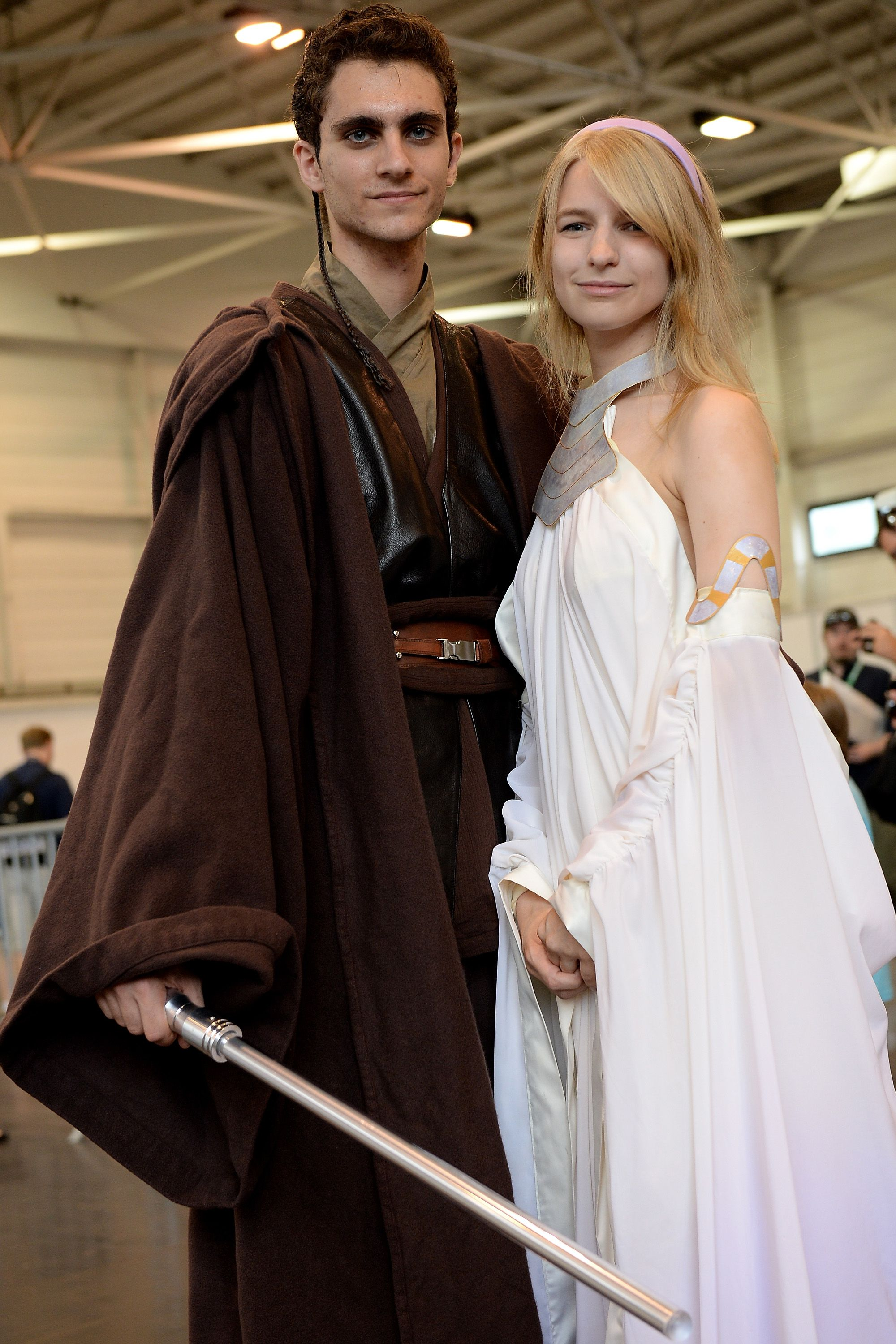 How To Make Homemade Star Wars Costumes Star Wars Wedding Dress