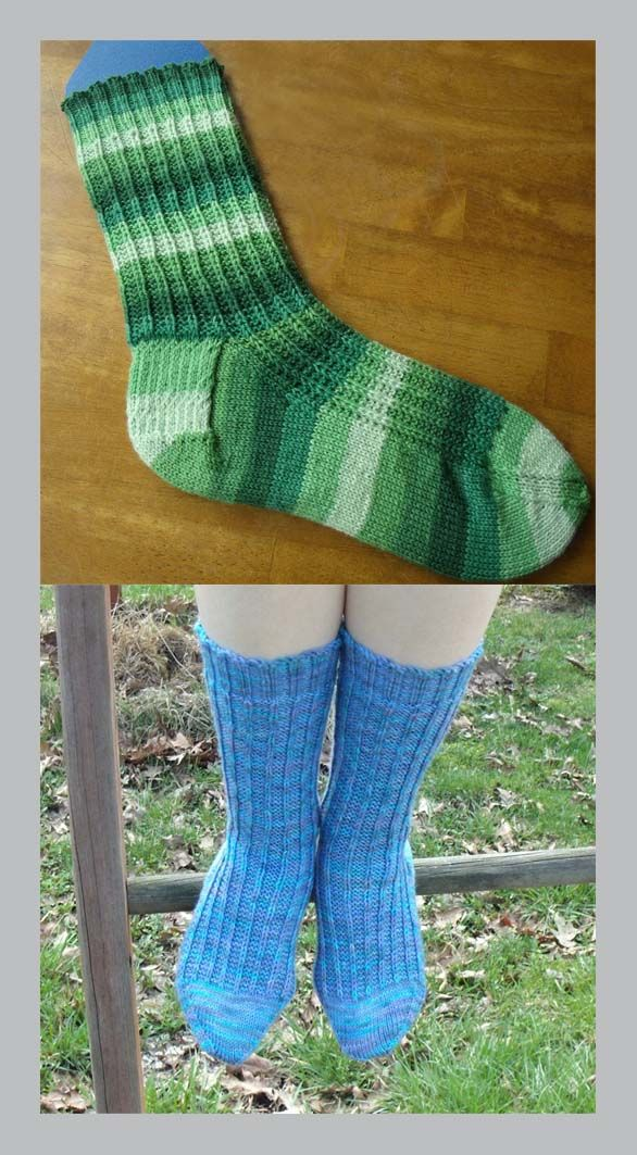 {Not Wasting Time} Free Sock Knitting Pattern! (With ...