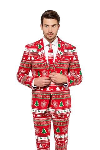 Shinesty Christmas Suits.The Soiree Of Sin Ugly Christmas Sweater Suit By Opposuits