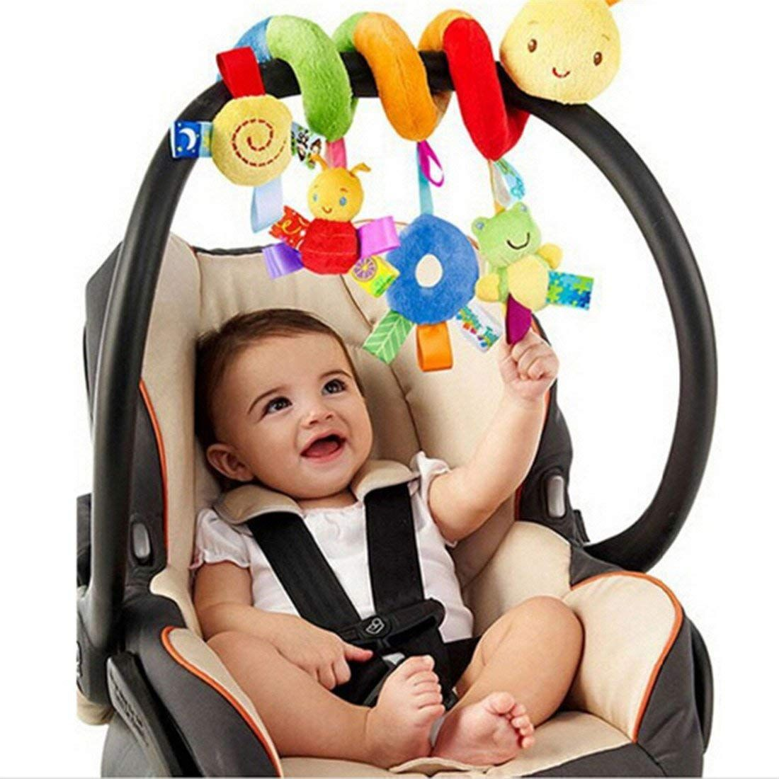Uteruik Hanging Toys Early Development Baby Toy For Babys Car Seat or Stroller