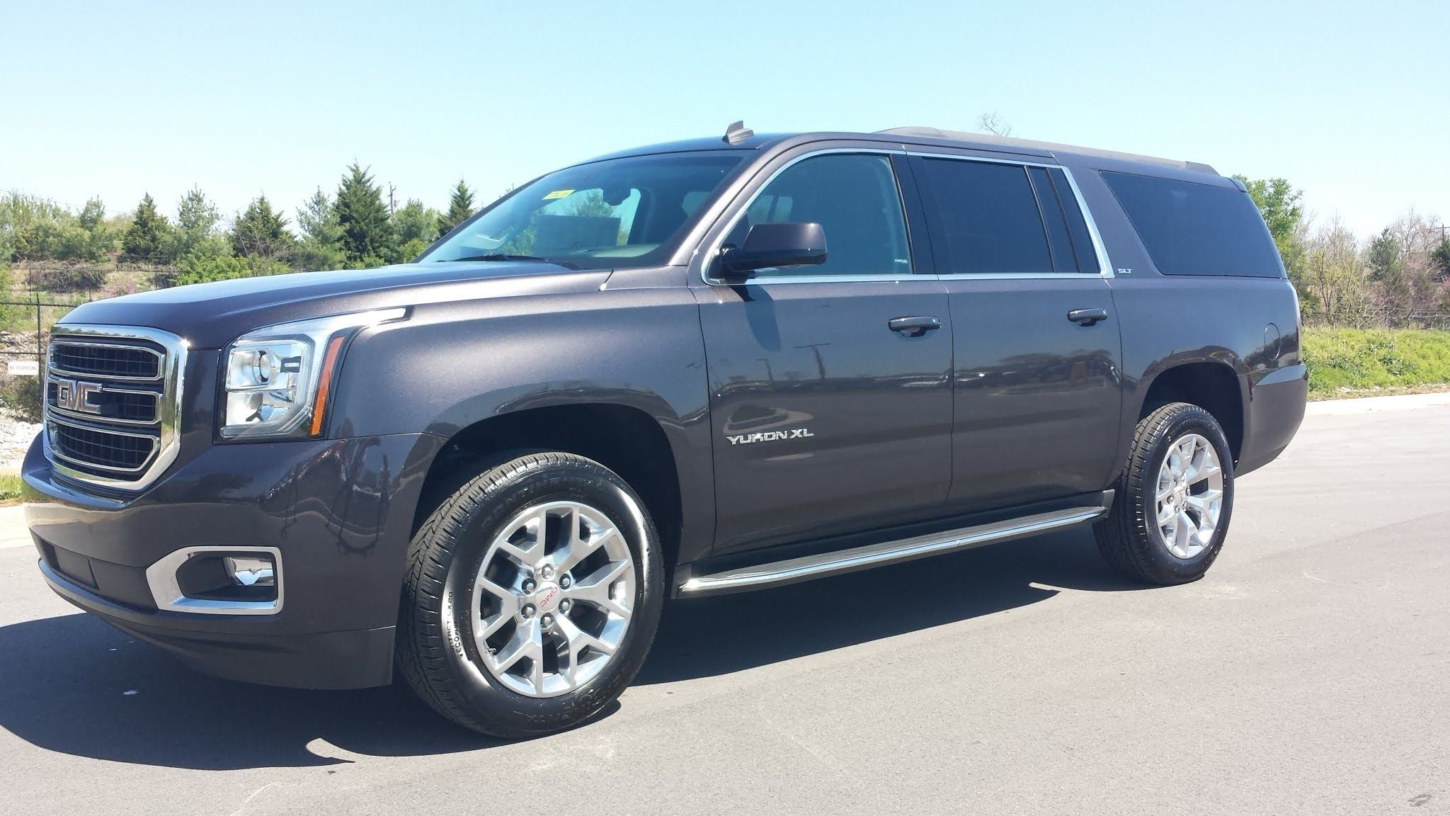 2015 Gmc Yukon Xl Slt 4wd Iridium Metallic 20 S Walk Around And
