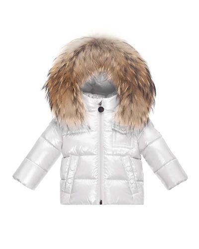 bfd7f2340 Z1QAJ Moncler K2 Hooded Fur-Trim Puffer Coat