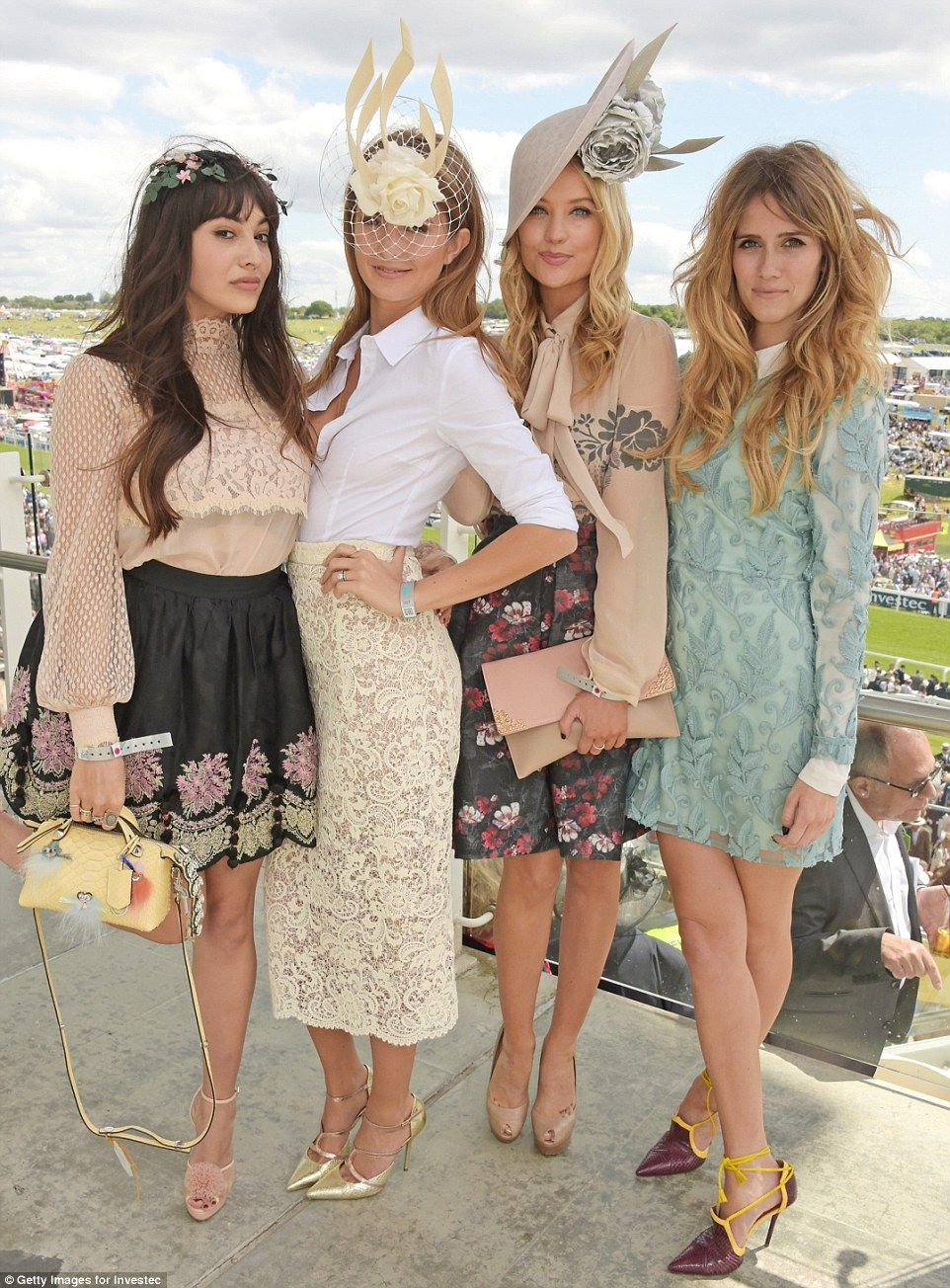 All dressed up for Derby day - and the sun is shining at Epsom | Derby  attire, Derby outfits, Kentucky derby outfit