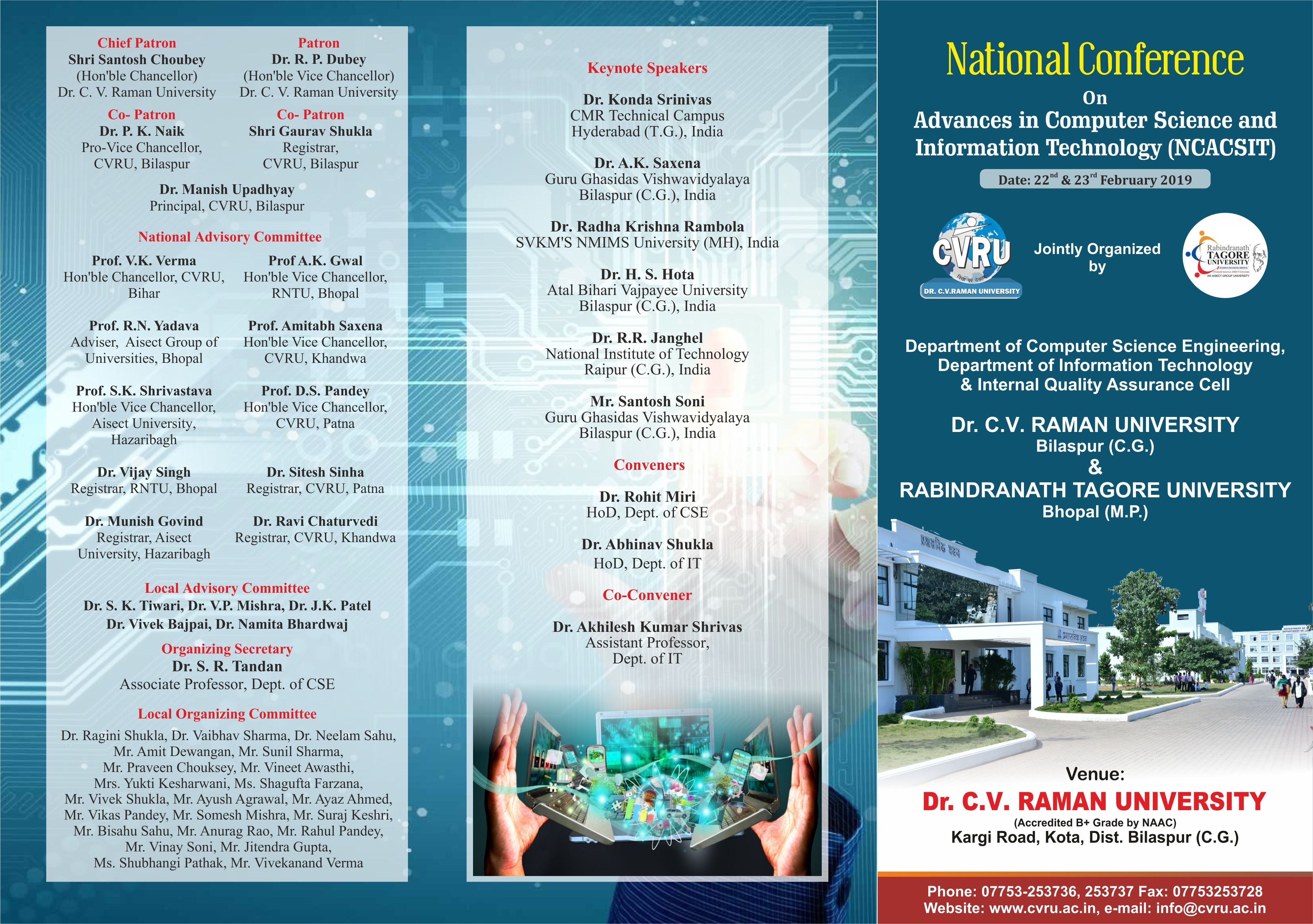 National Conferences Best university, College fun