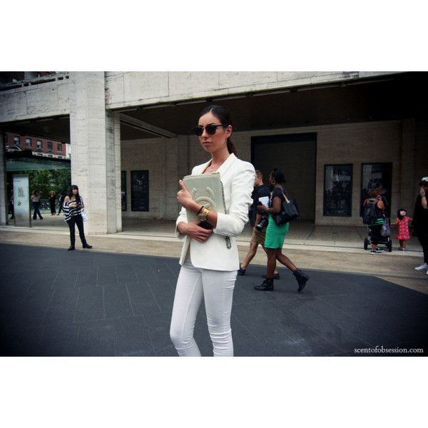 Scent of Obsession - fashion blogger: NEW YORK FASHION WEEK s/s 2013 -... via Polyvore