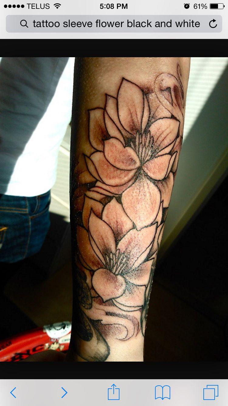 Sleeve Men flower tattoo, Lotus flower tattoo design