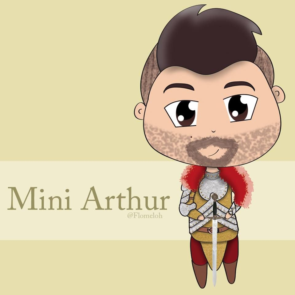 Fan'art - La Légende Du Roi Arthur