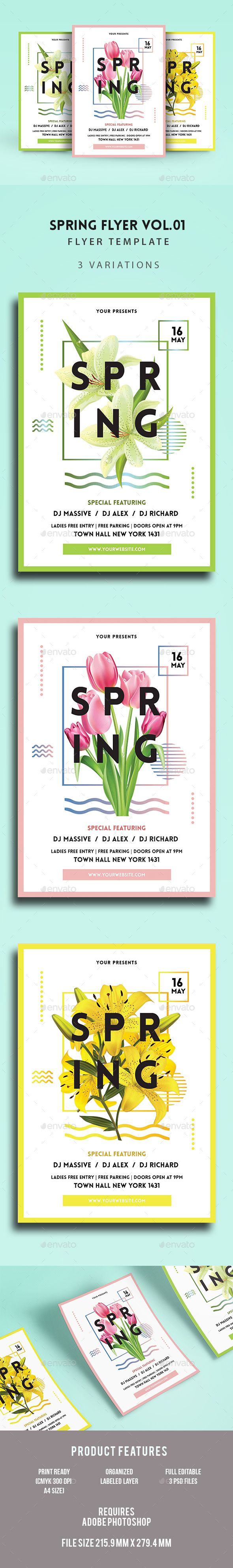 Spring Flyer Flyer Template Template And Event Flyers
