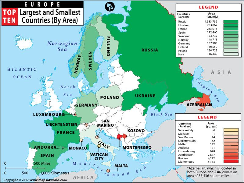 Europes Smallest Country Worlds Smallest Country Which One Is - Montenegro maps with countries