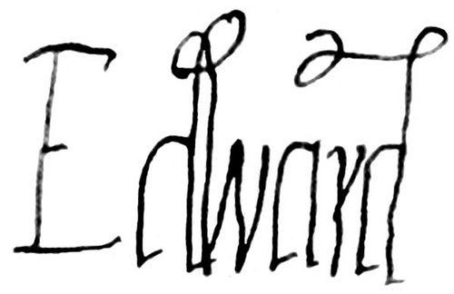 Signature of Edward VI. by Kell0340, via Flickr