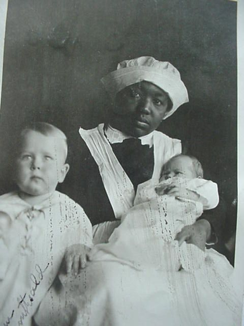 We Are Literally Slaves An Early Twentieth Century Black Nanny Sets The Record Straight Black And White Photographs Century Black African American History