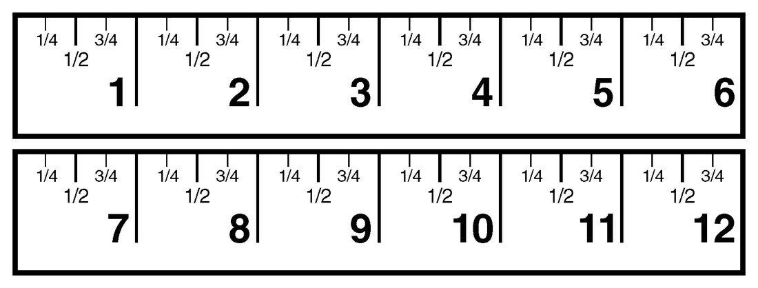Number Names Worksheets : 12 ruler printable ~ Free Printable ...
