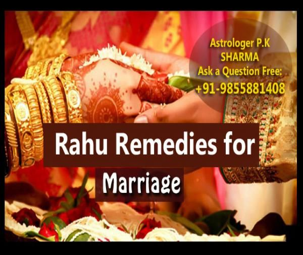 Rahu remedies for marriage at home is the best Rahu Shanti remedies