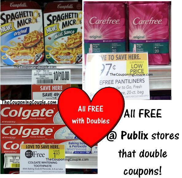 3 Freebies At Publix For Those That Get Doubles Publix Freebie Doubles