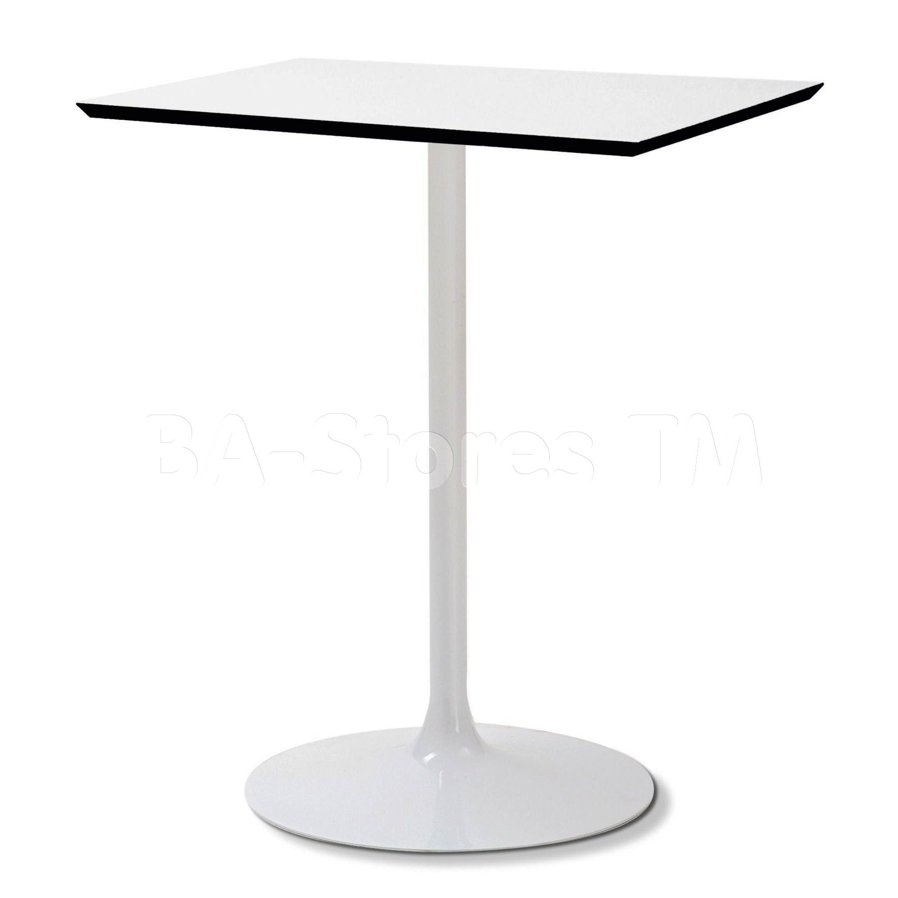 Largest Dining Tables collection: Suitable for outdoor use, Crown-Q Square  Kitchen Dining Table is square table with lacquered steel frame and White  high ...