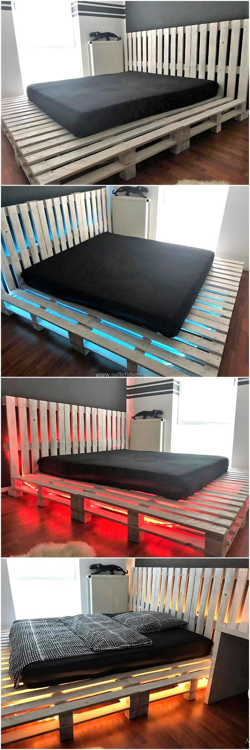 Ingenious DIY Wood Pallet Recycling Projects: The Idea We Are Showing Here  For The Reclaimed Wood Pallet Is Impressive With The Space To Place The  Items Of