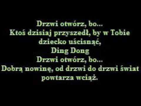 Kayah Ding Dong Tekst Youtube Ding Dong Polish Music Dings