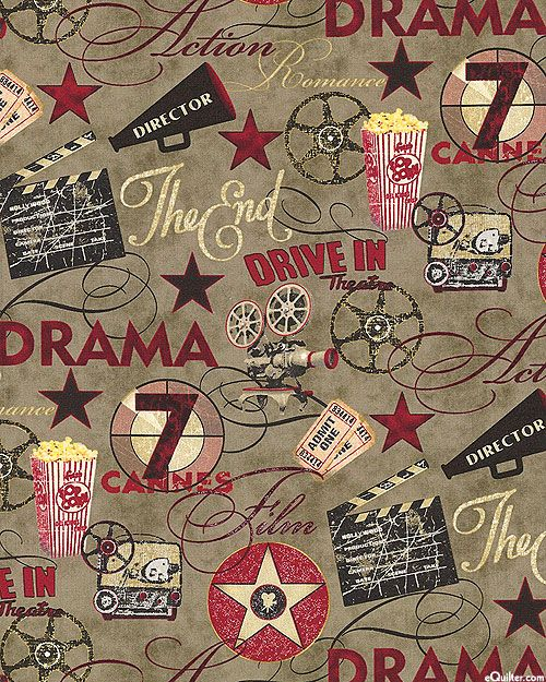 Date Night - Drama at the Drive In - Dk Taupe