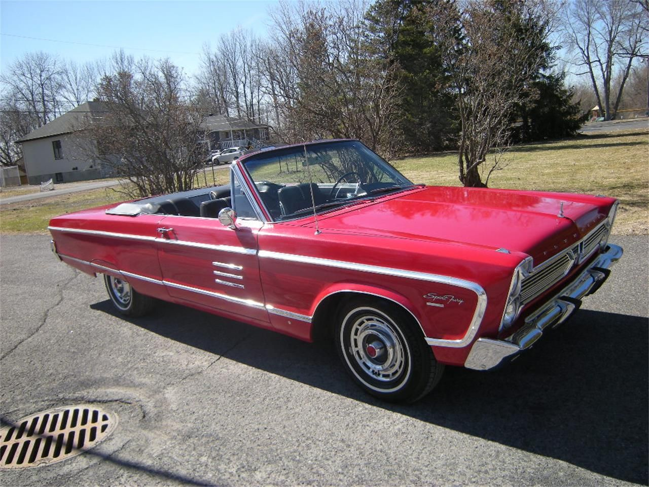 1966 Plymouth Sport Fury Convertible Fury, Plymouth fury