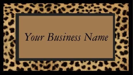 Sophisticated brown animal print wild cat cheetah fur print business sophisticated brown animal print wild cat cheetah fur print business cards httpwww colourmoves Images