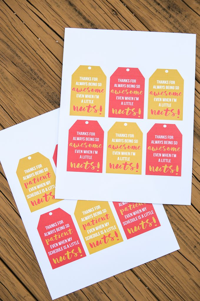 These free printable youre awesome gift tags make the perfect these free printable youre awesome gift tags make the perfect just because gifts for friends when combined with turtles candy or try it with some spiced negle Gallery