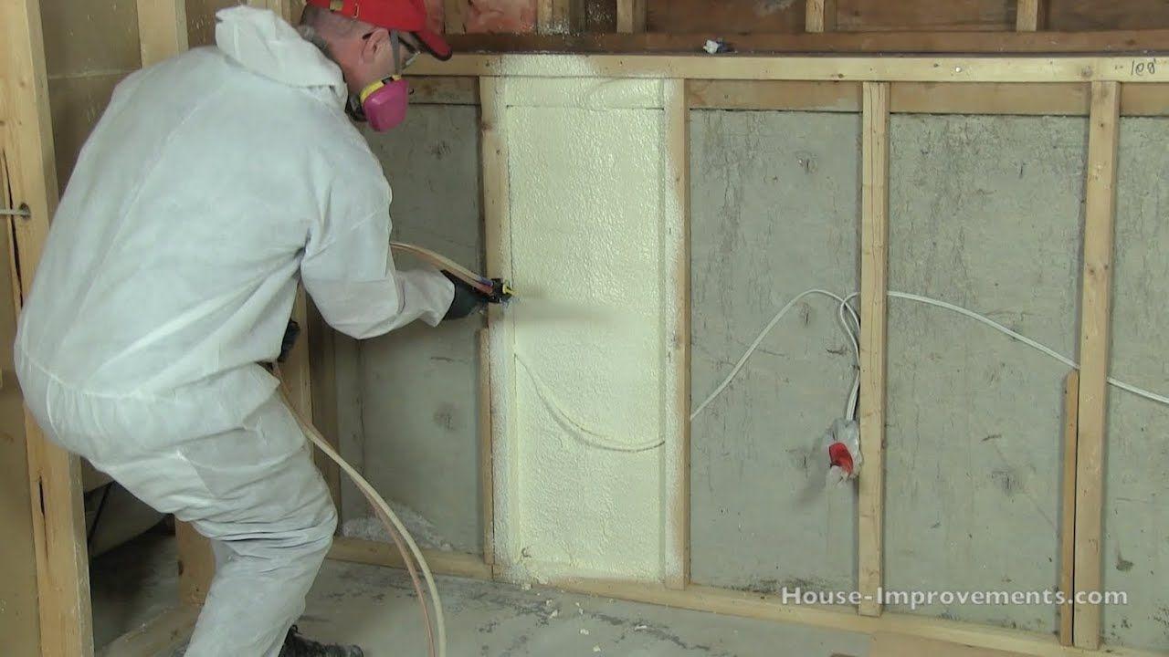 How to Install Spray Foam Insulation DIY YouTube Diy