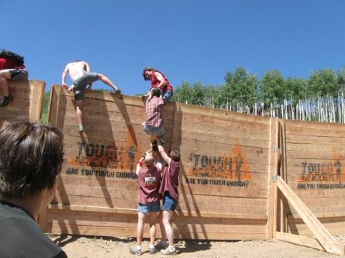 Image result for tough mudder berlin wall