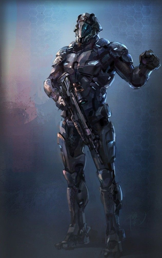 Battle Suit Sci Fi Art Sci Fi Sci Fi Characters Cyberpunk
