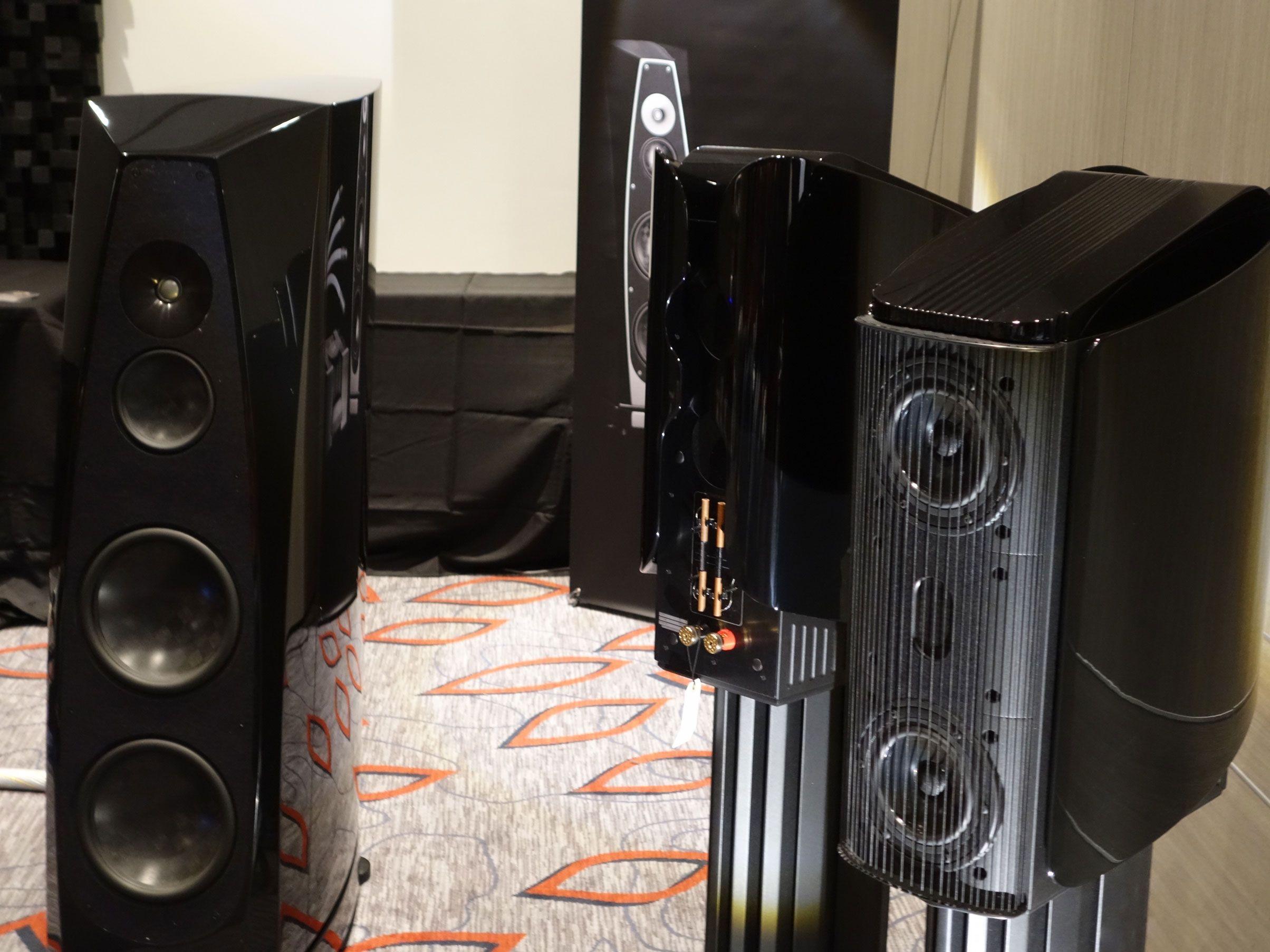 Rockport Technologies Cygnus And Gryphon Audio Designs Mojos Speakers