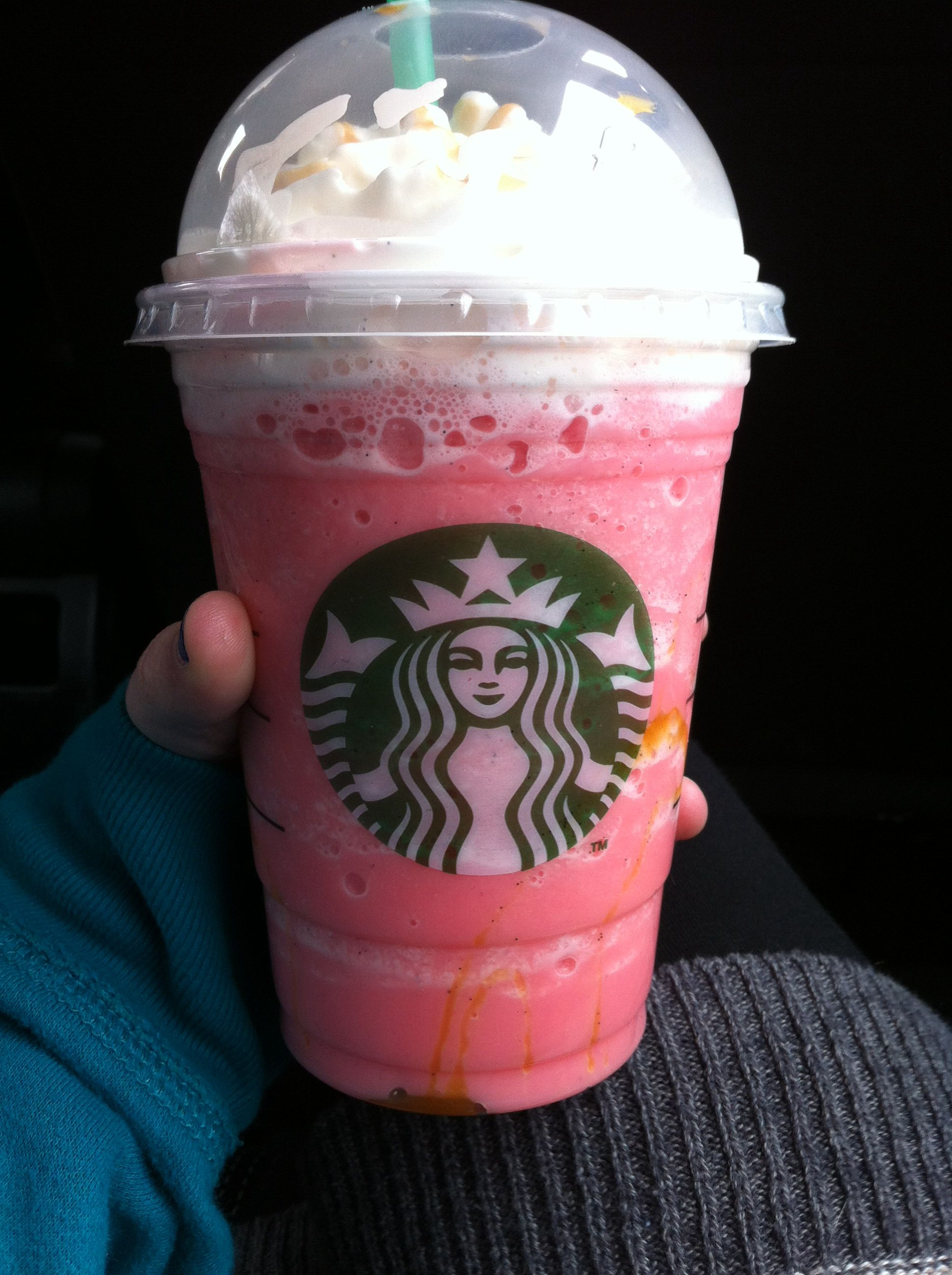 I Just Ordered A Cotton Candy Frappe At Starbucks It S Perfection Just Order A Vanilla Bean Frapp Starbucks Coffee Drinks Starbucks Drinks Healthy Starbucks