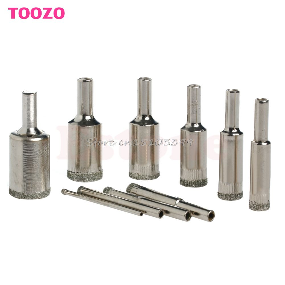 10pcs 3mm 20mm diamond coated glass marble ceramic tile hole saw 10pcs 3mm 20mm diamond coated glass marble ceramic tile hole saw drill bits set dailygadgetfo Gallery