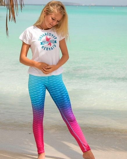 b68ee9c999f Maui Splash leggings are the perfect leggings to show your true mermaid  spirit as you head off to school.