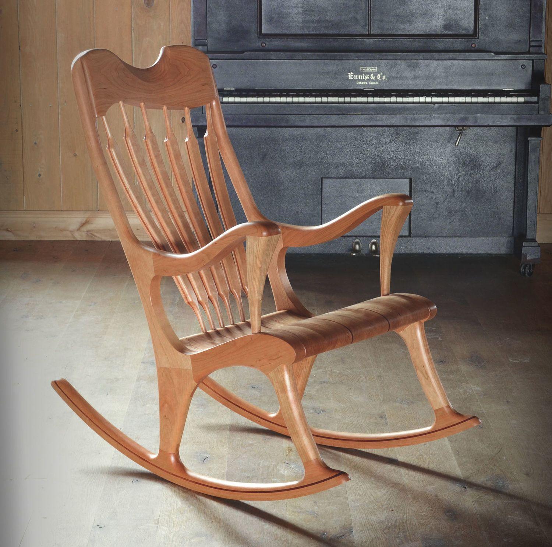 Chaise Bercante Salon Des Metier D Art De Montreal Chaise Bercante Chaises Bercantes En Bois Chaise A Bascule